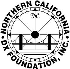 North California DX Foundation Logo